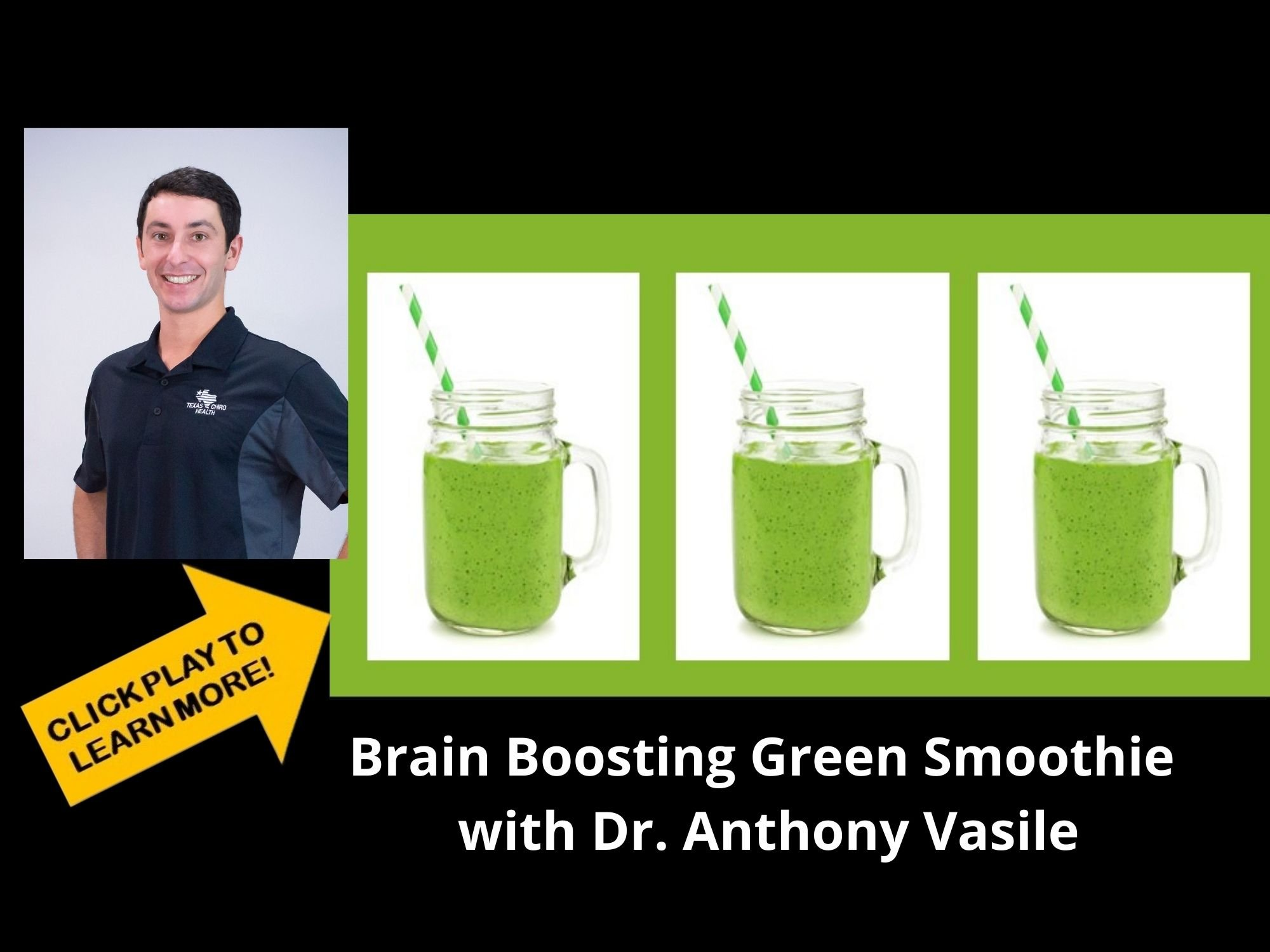 Brain Boosting Green Smoothie